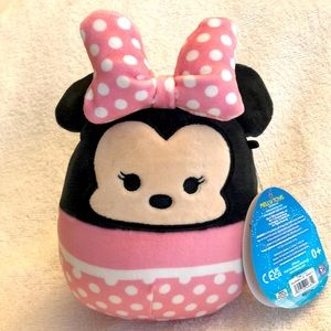 """NEW 5"""" Minnie Mouse Squishmallow NWT"""